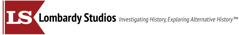 Lombardy Studios with slogan