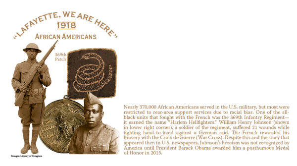African Americans Cachet
