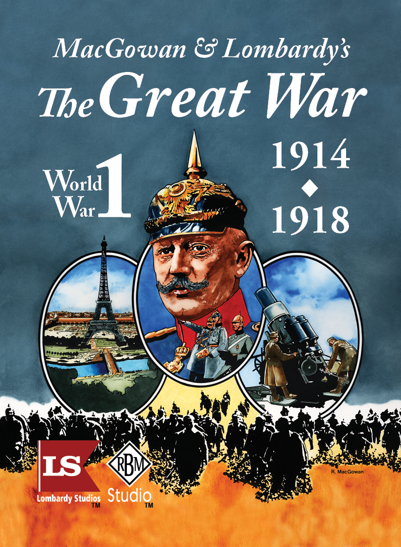 MacGowan and Lombardy's The Great War game