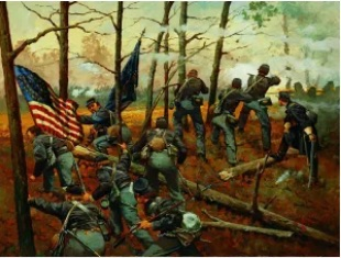 9th Illinois lost 366 of its 578 men, the most of any unit at Shiloh. 1995 Keith Rocco